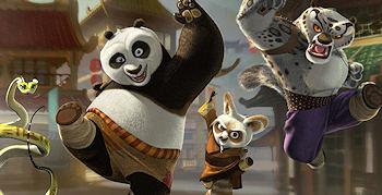Kung Fu Panda and Friends