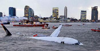 Airbus im Hudson