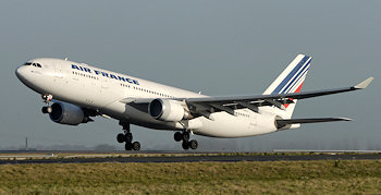 Air France - Airbus A330 abgestürzt