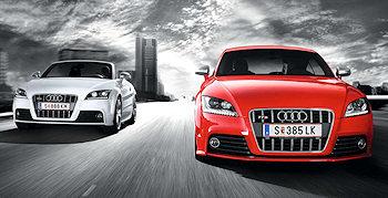Audi TTS - ein Racer