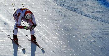 Baumann - erster Weltcupsieg
