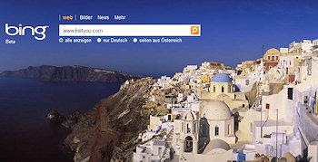 Bing ist online