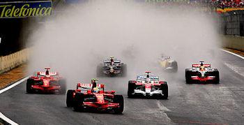 Start Ziel Sieg - Massa/Ferrari