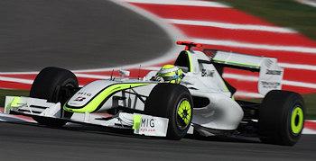 Doppelsieg für Brawn GP in Spanien