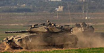 Israelische Bodenoffensive