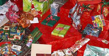 Weihnachten - Einkaufsrausch