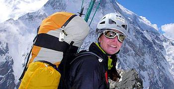 Gipfelsieg für Gerlinde Kaltenbrunner