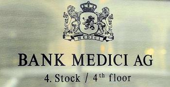 Bank Medici - Konzession entzogen