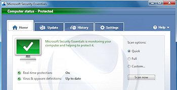 Microsoft veröffentlicht kostenlosen Virenschutz