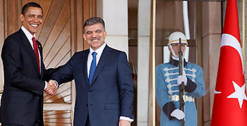 Barack Obama - Abdullah Gul