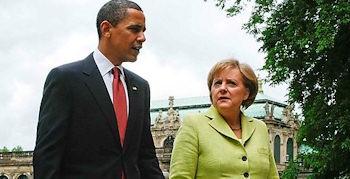 Obama trifft Merkel