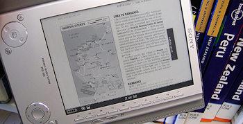 Sonys PRS-505 ist ein Taschenbuch