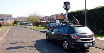 Google Street View umstritten
