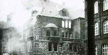 Brennende Synagogen