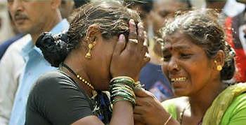 Trauer in Indien