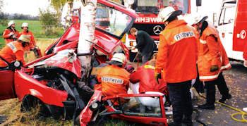 Ostern 2009 - weniger Verkehrsunfälle
