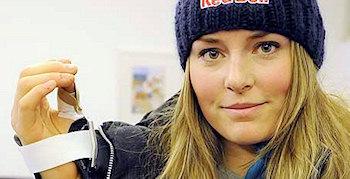 Lindsey Vonn - verletzt