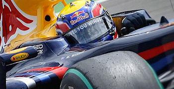 Ein Triumph für Webber