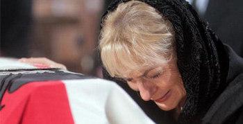 Trauer der Witwe